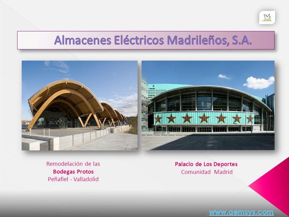 Remodelación del Palacio de Comunicaciones Sede Ayuntamiento de Madrid Ampliación del Museo del Prado Rafael Moneo www.aemsys.com