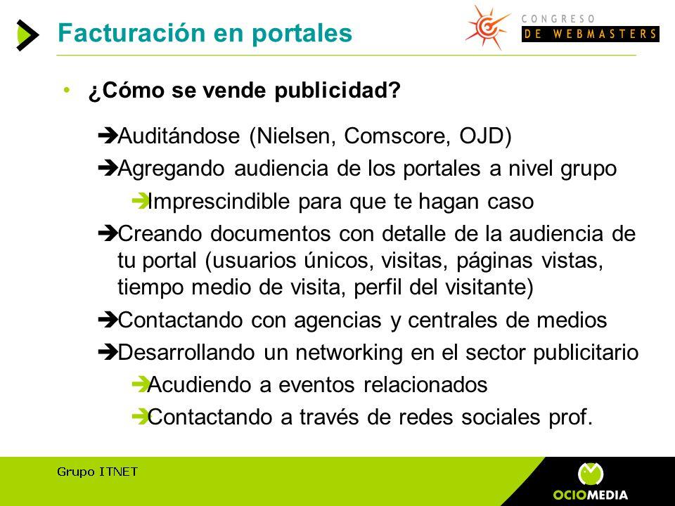 Facturación en portales ¿Cómo se vende publicidad.