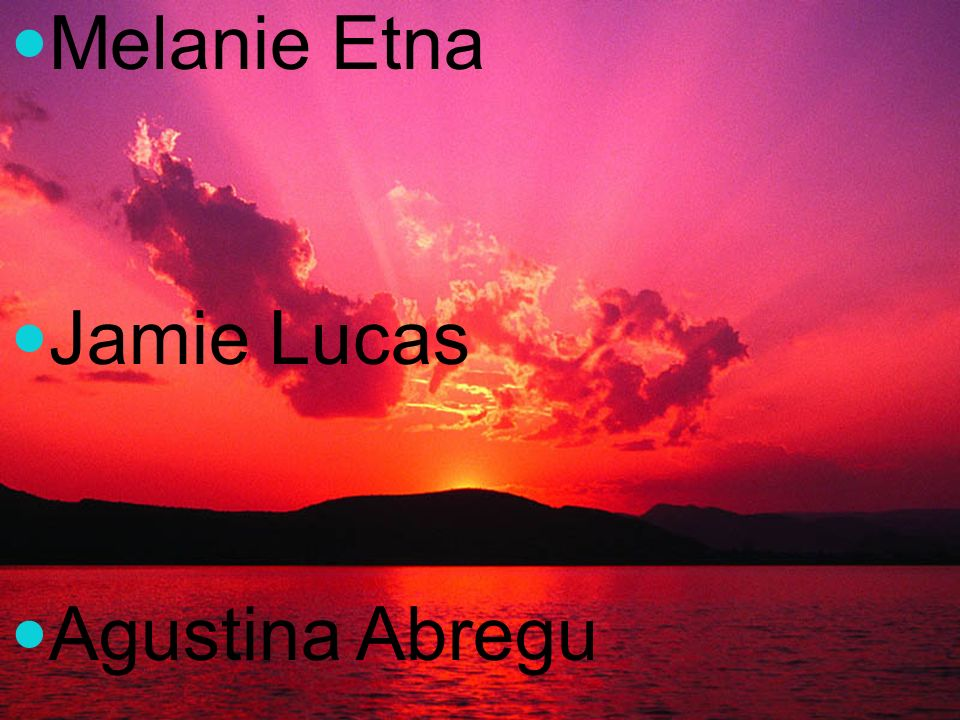 Melanie Etna Jamie Lucas Agustina Abregu