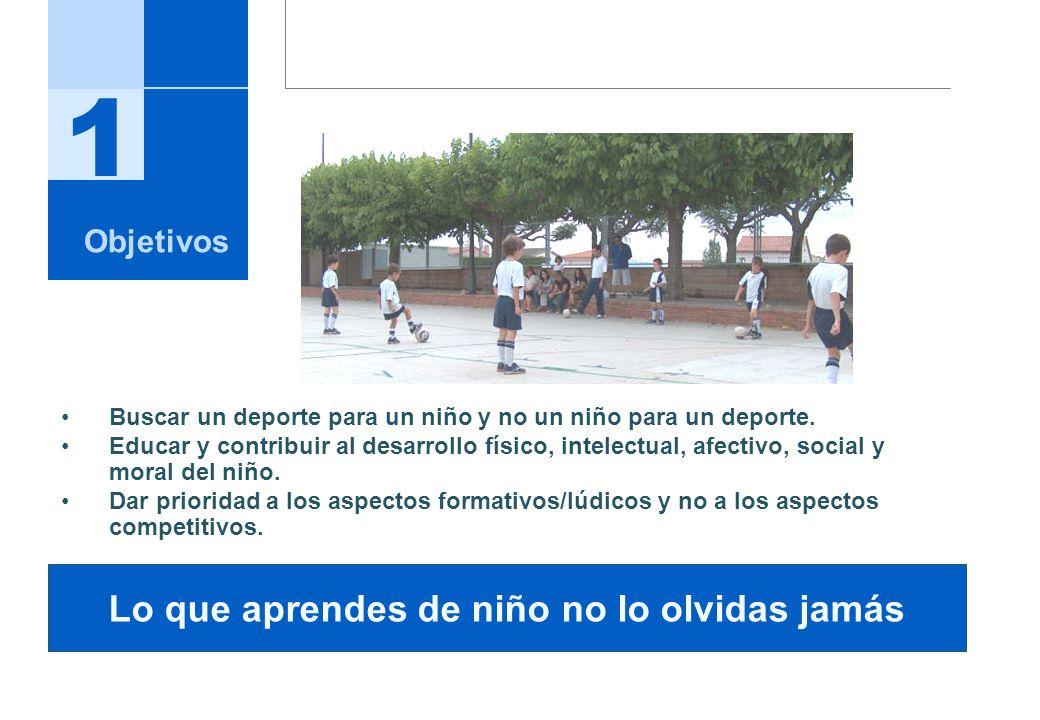 Objetivos Quienes somos Que nos diferencia Proyecto deportivo Conceptos Básicos Desarrollo técnico Desarrollo Psicomotriz Desarrollo Intelectual Desarrollo Afectivo Desarrollo Social & Moral Entidades Colaboradoras 1 2 3 4 Agenda 5