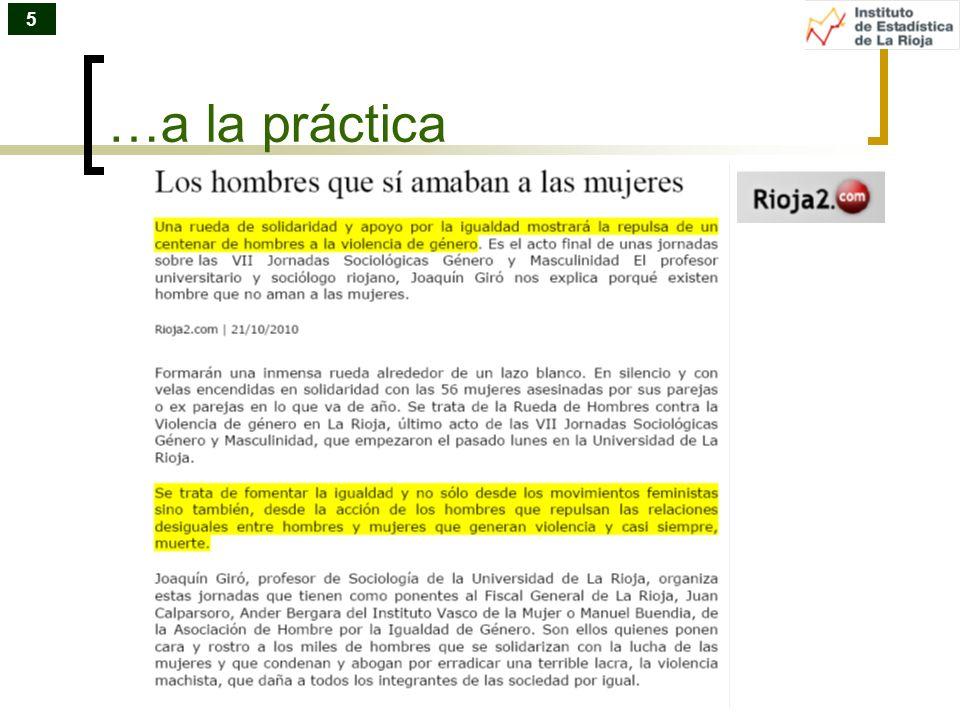 …a la práctica 5