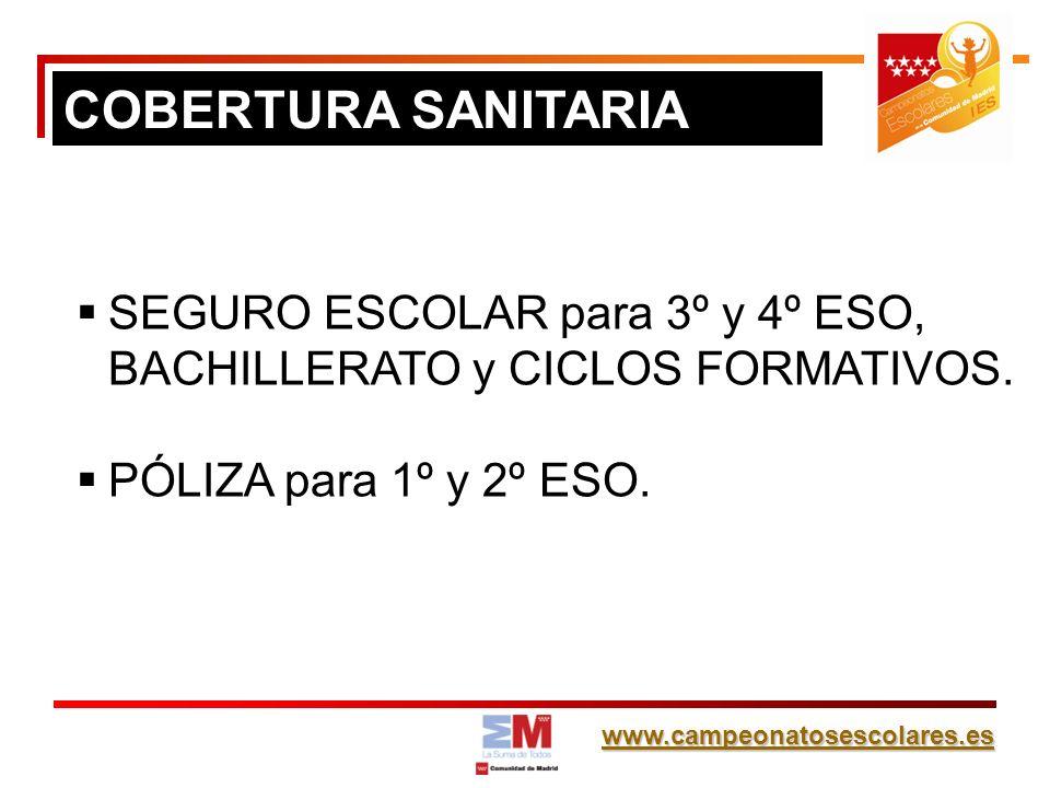 www.campeonatosescolares.es Alumnos con DNI/NIF/NIE.