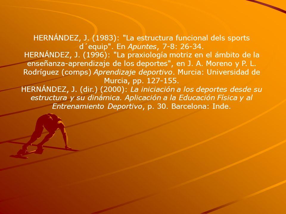 HERNÁNDEZ, J. (1983):