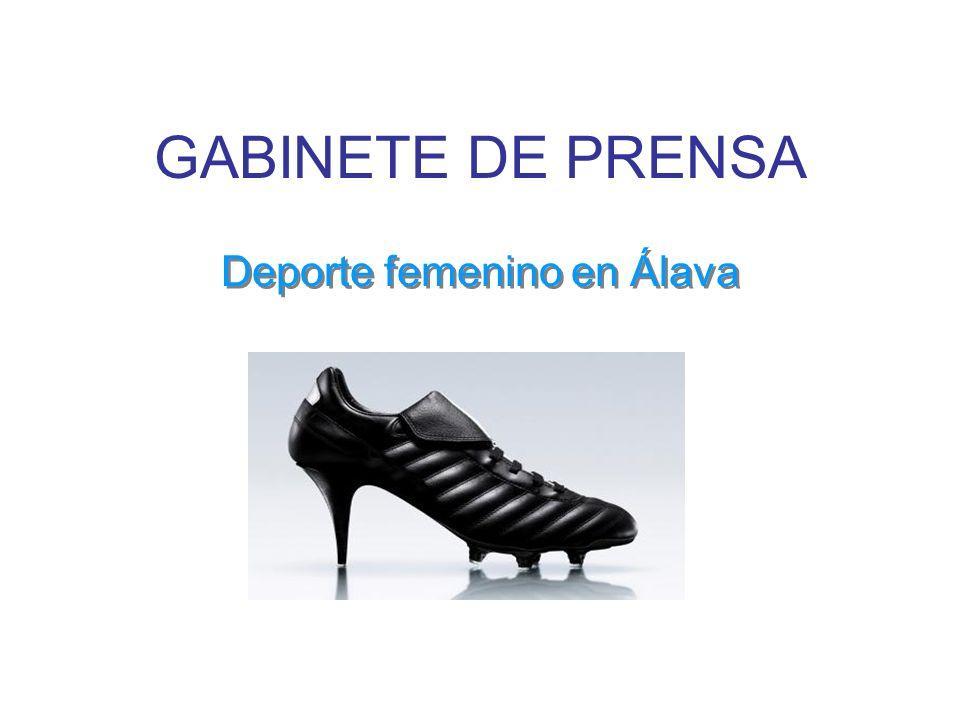 GABINETE DE PRENSA Deporte femenino en Álava