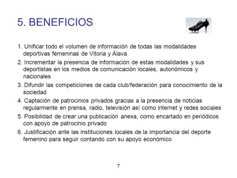7 5.BENEFICIOS 1.