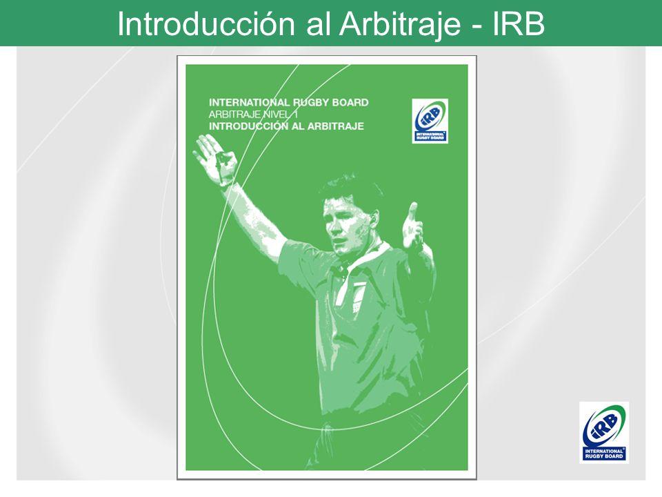 Introducción al Arbitraje - IRB La Bolsa del Árbitro: La presentación personal tiene influencia en jugadores y espectadores.