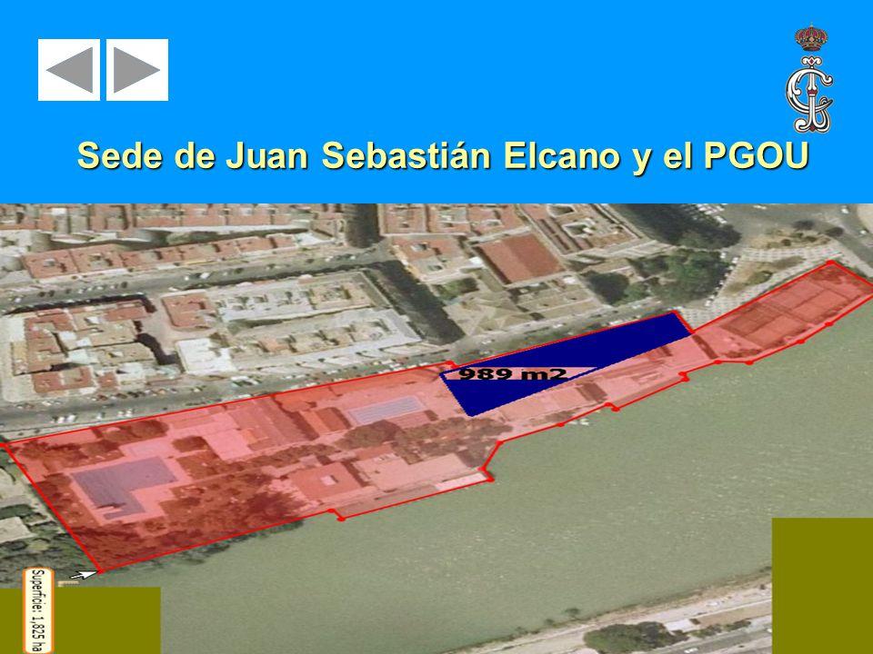 Sede de Juan Sebastián Elcano y el PGOU