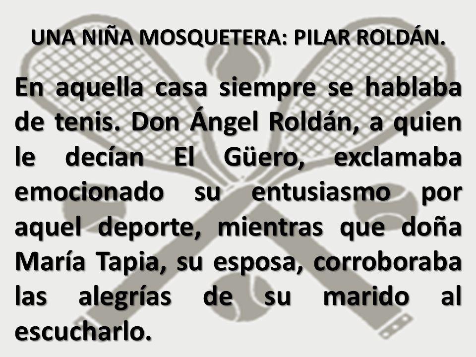 Él había sido uno de los mejores raquetistas mexicanos y ella, a quien le decían de cariño La Chata, había sido nada menos que triple medallista en los Juegos Centroamericanos y del Caribe, en 1935.