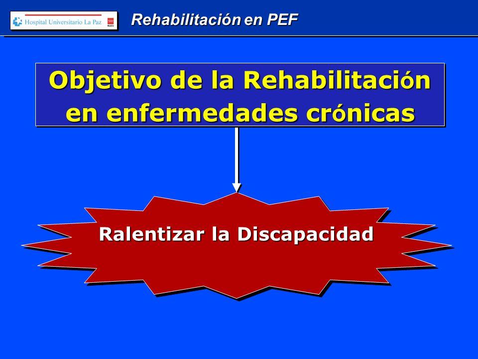 Rehabilitación en PEF Equipo Interdisciplinar de Rehabilitaci ó n