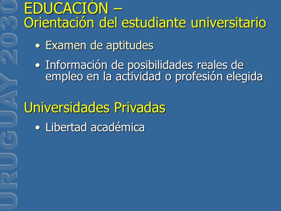 Examen de aptitudesExamen de aptitudes Información de posibilidades reales de empleo en la actividad o profesión elegidaInformación de posibilidades r