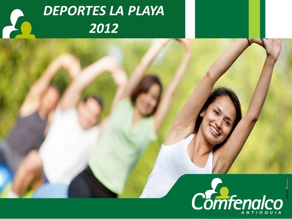 DEPORTES LA PLAYA 2012