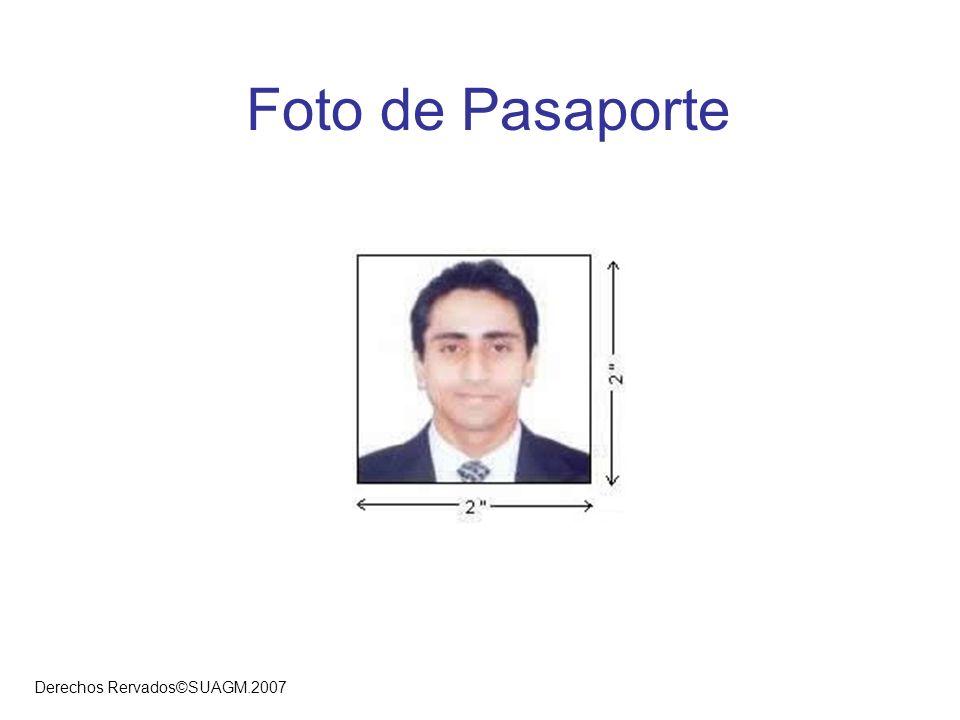 Derechos Rervados©SUAGM.2007 Visas