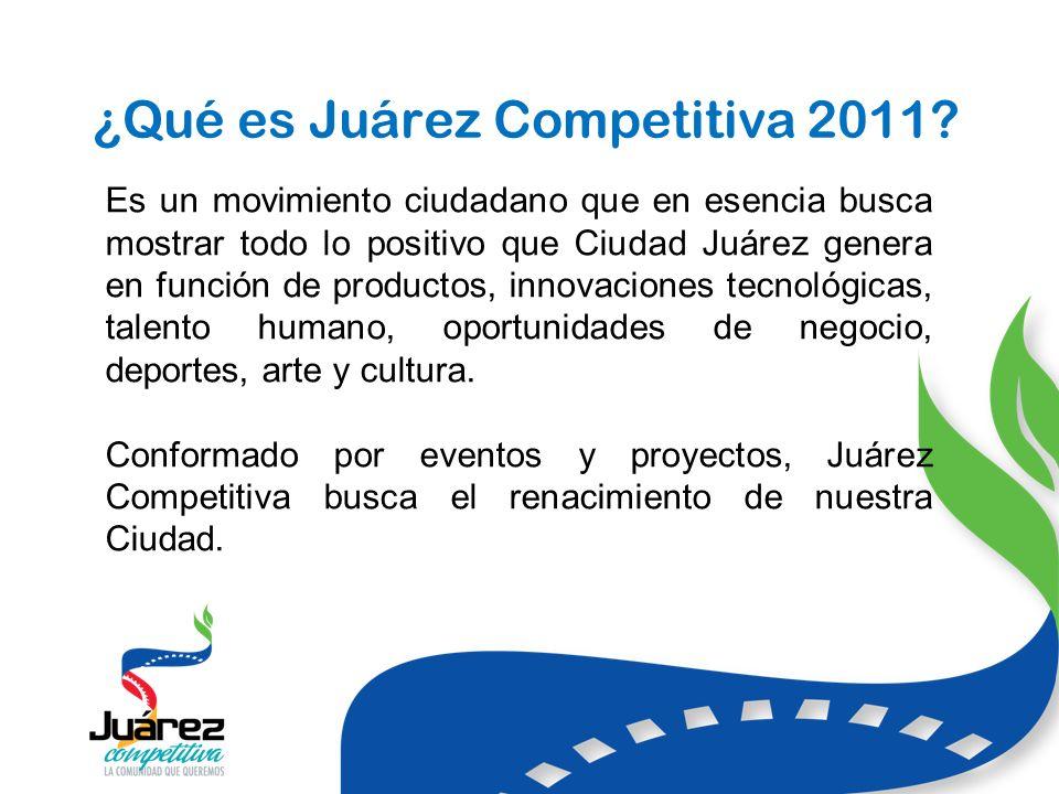 ¿Qué es Juárez Competitiva 2011.