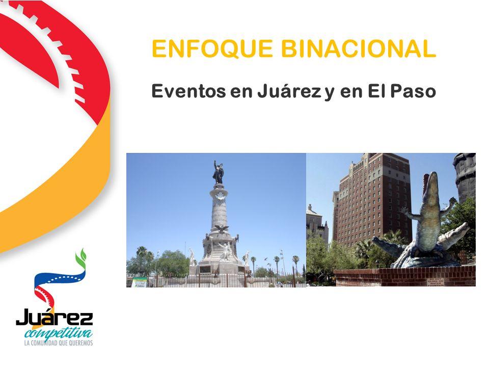 ENFOQUE BINACIONAL Eventos en Juárez y en El Paso