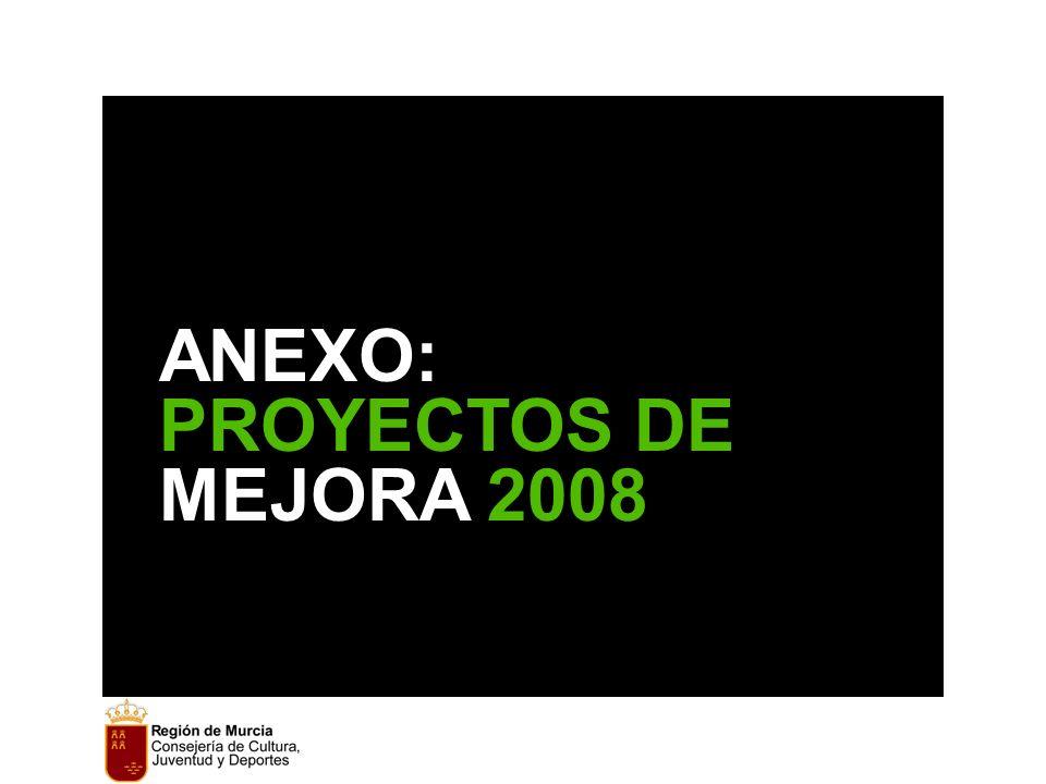 ANEXO: PROYECTOS DE MEJORA 2008