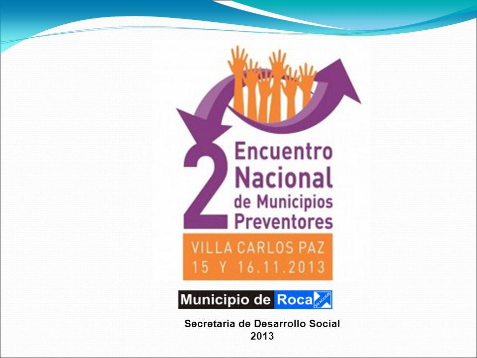 Secretaria de Desarrollo Social 2013