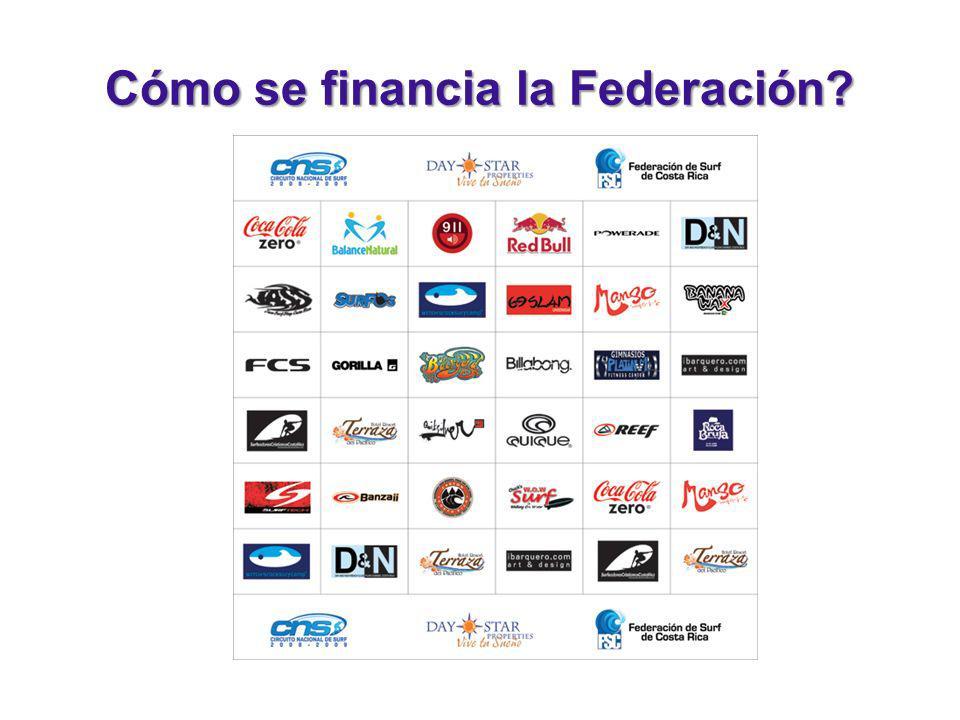Cómo se financia la Federación?
