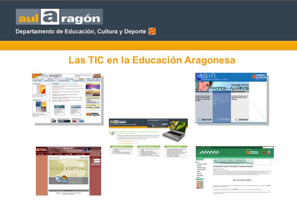 AULARAGÓN: Enseñar y aprender en Internet La plataforma de teleformación para el desarrollo de enseñanzas regladas, de formación del profesorado y no regladas.