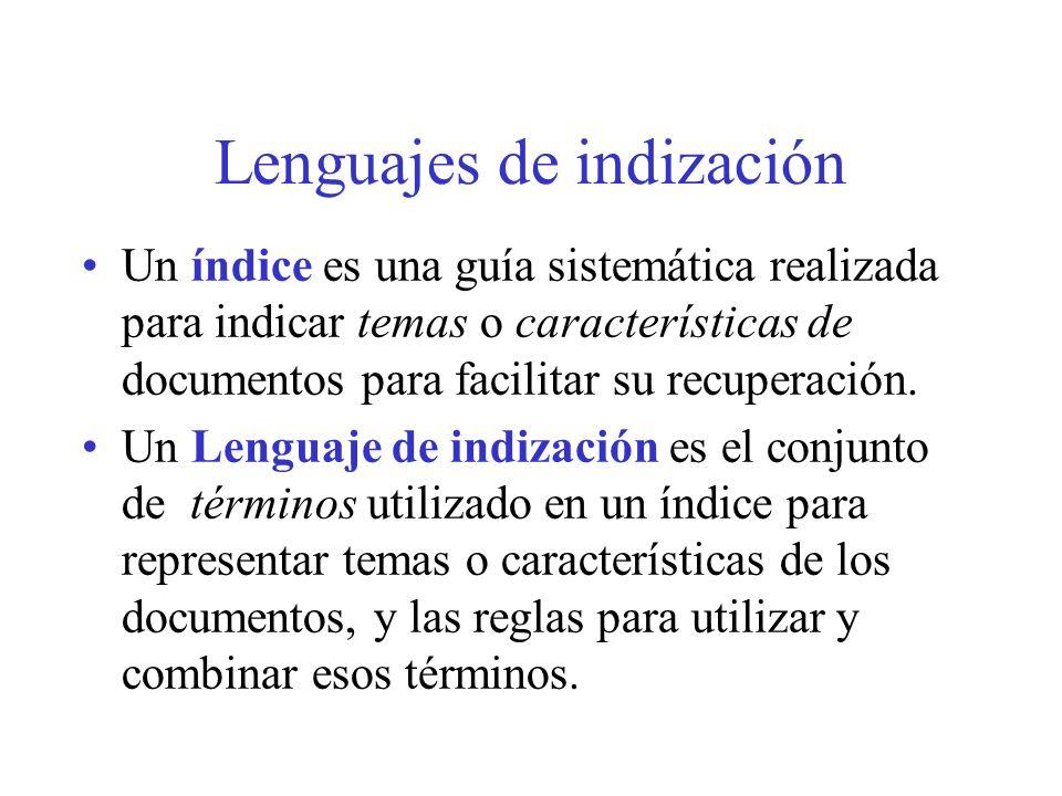 5.Si el término es es utilizado con frecuencia en la indización y la búsqueda.