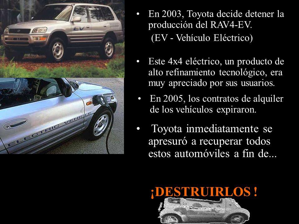 El municipio intentó comprar los autos pero Nissan se negó; ¡DESTRUIRLOS .