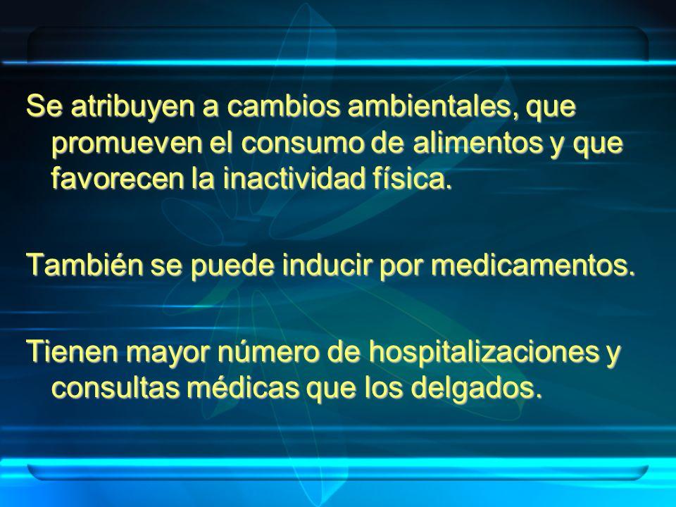 *Sibutramina*Sibutramina *Orlistat*Orlistat MetforminaMetformina MazindolMazindol DietipropionDietipropion * Aprobados por la FDA Medicamentos aceptados: Bajo prescripción y control médico