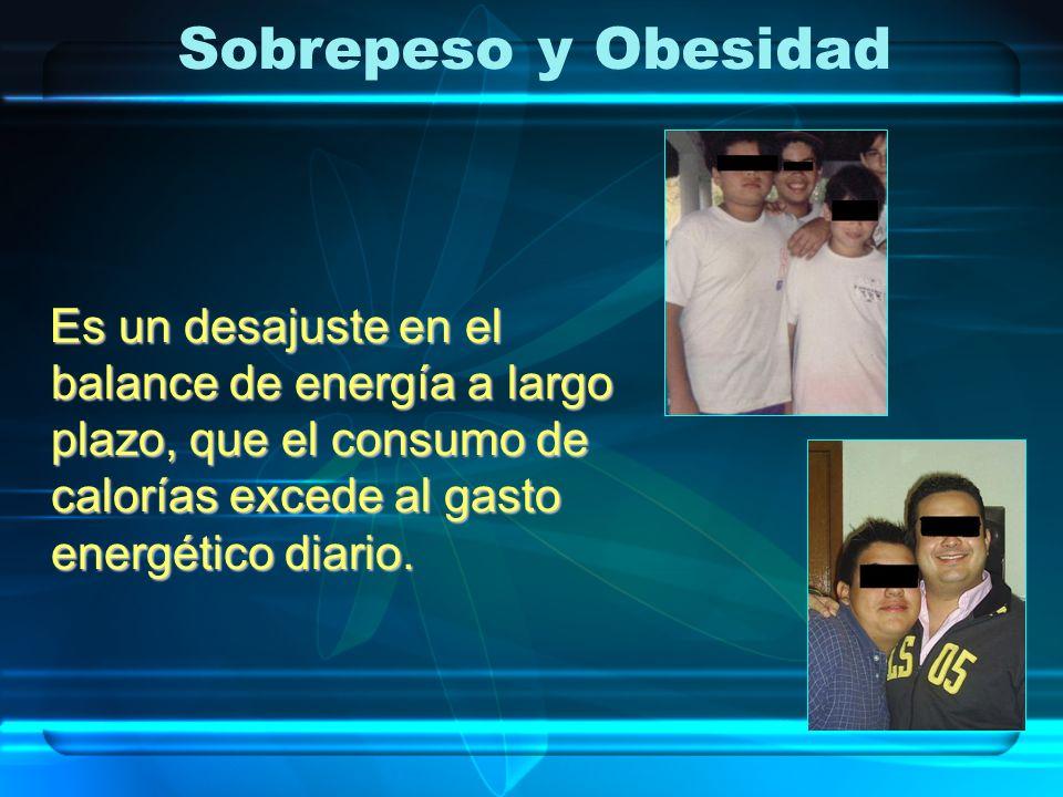 La causa del sobrepeso y la obesidad es sencilla y clara : se debe a una ingesta alta de los nutrientes, en relación a las necesidades del consumo de energía de la persona.