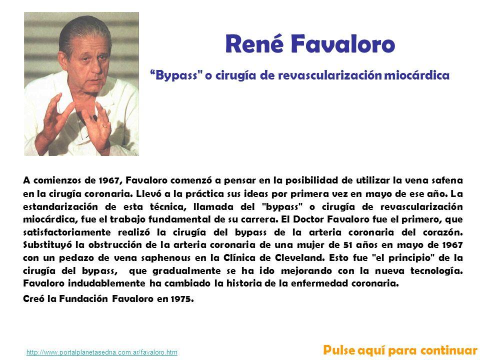 A comienzos de 1967, Favaloro comenzó a pensar en la posibilidad de utilizar la vena safena en la cirugía coronaria.