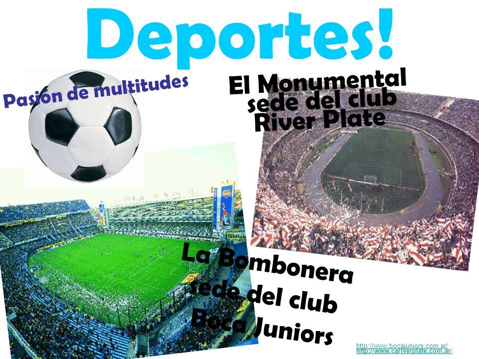 El Monumental sede del club River Plate Deportes.
