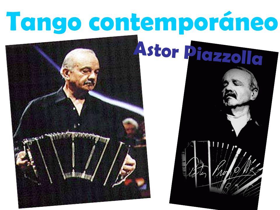 Tango contemporáneo Astor Piazzolla