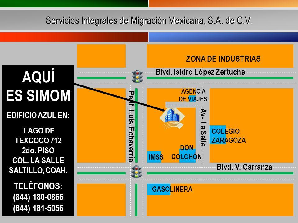 Servicios Integrales de Migración Mexicana, S.A. de C.V.
