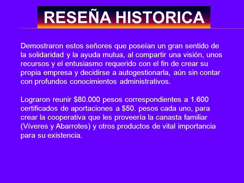 RESEÑA HISTORICA Muchos fueron los esfuerzos que realizaron sus asociados para contribuir al engrandecimiento socio-económico de COODECOTRAES y elevar el nivel de vida de sus asociados.