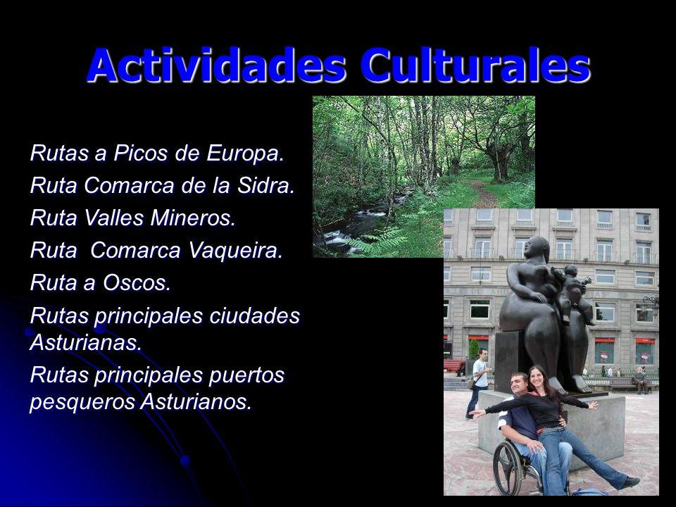 Actividades Culturales Rutas a Picos de Europa. Ruta Comarca de la Sidra.