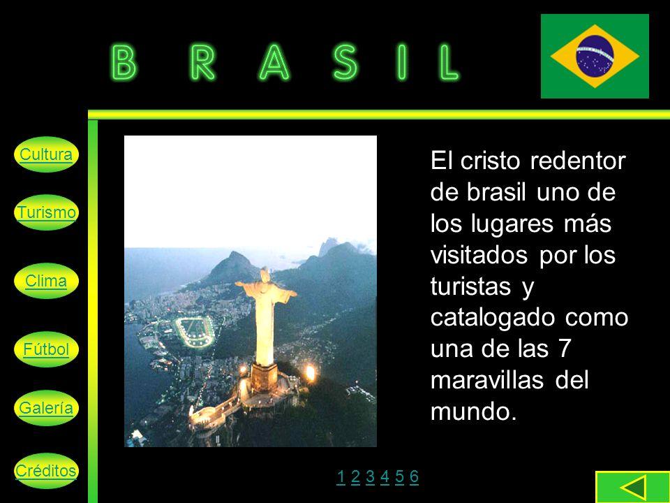 El cristo redentor de brasil uno de los lugares más visitados por los turistas y catalogado como una de las 7 maravillas del mundo.