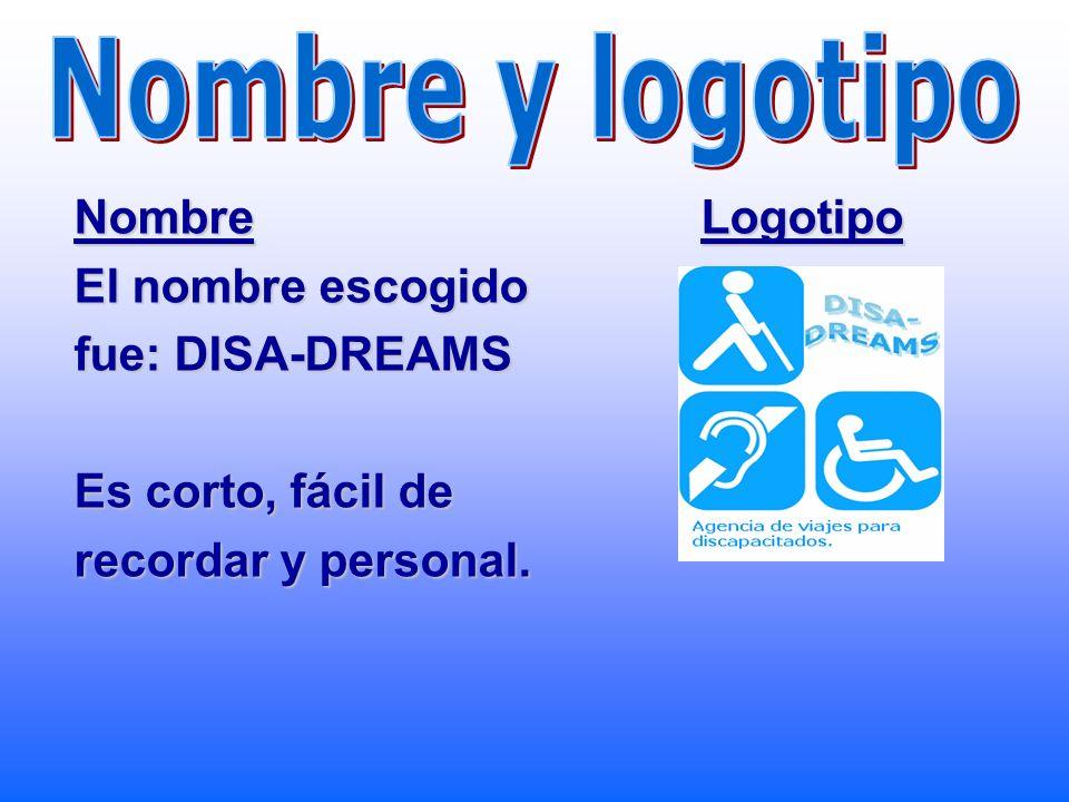 Elección de la idea La idea que hemos elegido ha sido la agencia de viajes para discapacitados. Creemos que es la que más posibilidades tiene de negoc