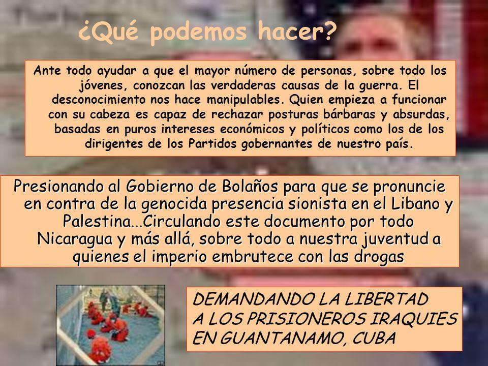 Últimas consideraciones En Venezuela gobierna ahora un Régimen Democrático, popular, de Justicia social y antiimperialista que Ha revertido en el pueblo las ganancias del petroleo que Produce y apoyado a otros paises de latinoamérica...