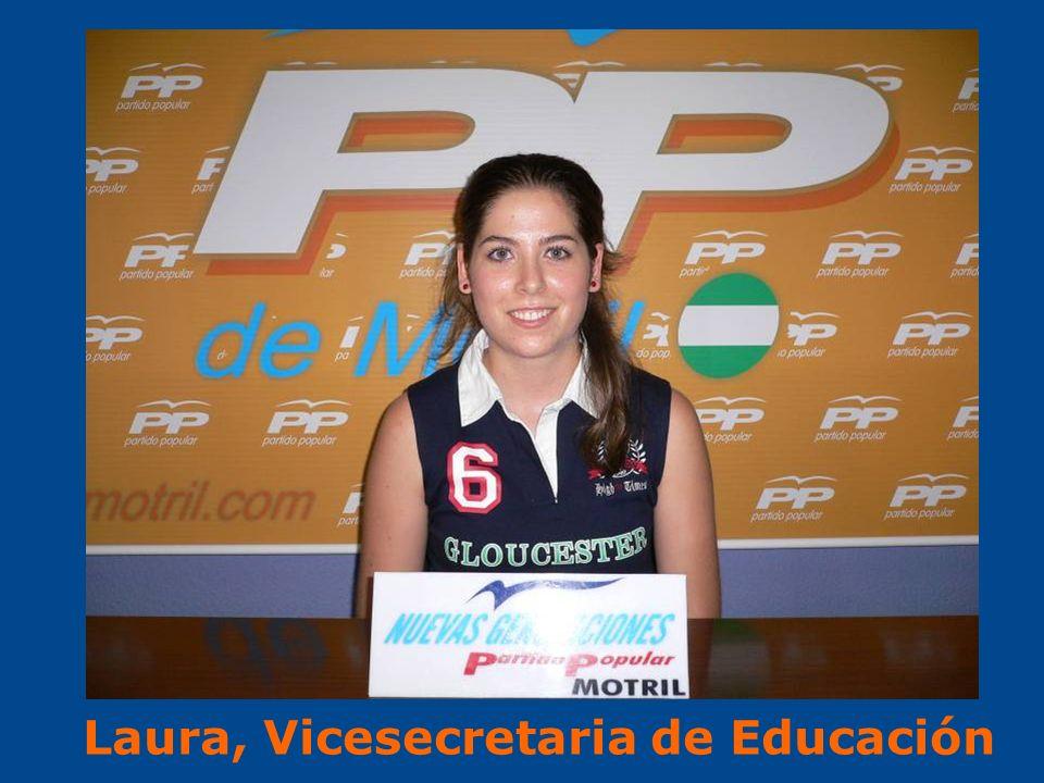 Laura, Vicesecretaria de Educación