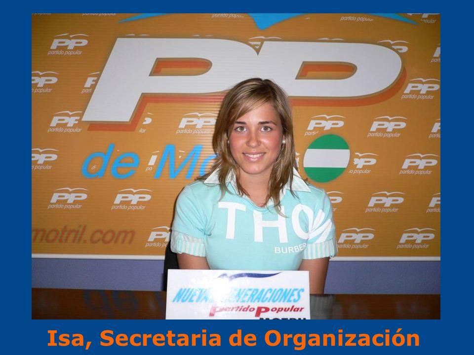 Isa, Secretaria de Organización