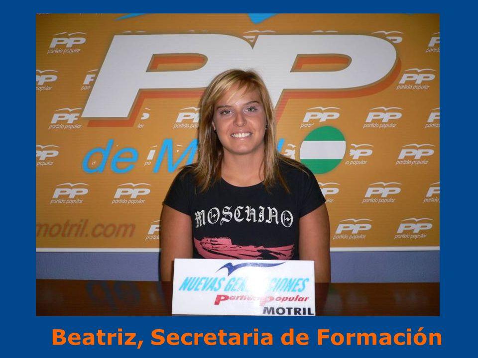 Beatriz, Secretaria de Formación