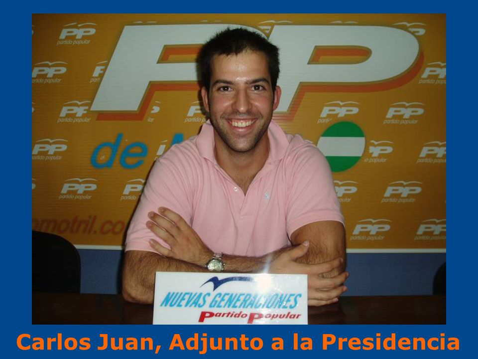 Carlos Juan, Adjunto a la Presidencia