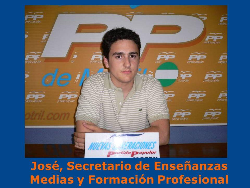 José, Secretario de Enseñanzas Medias y Formación Profesional