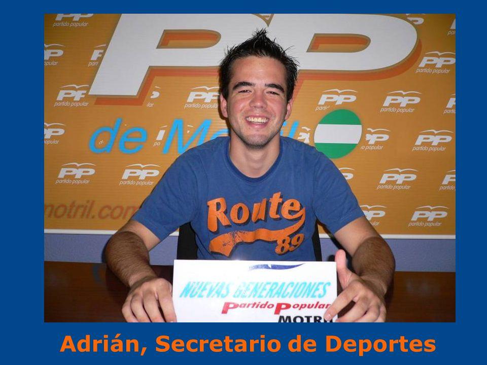 Adrián, Secretario de Deportes