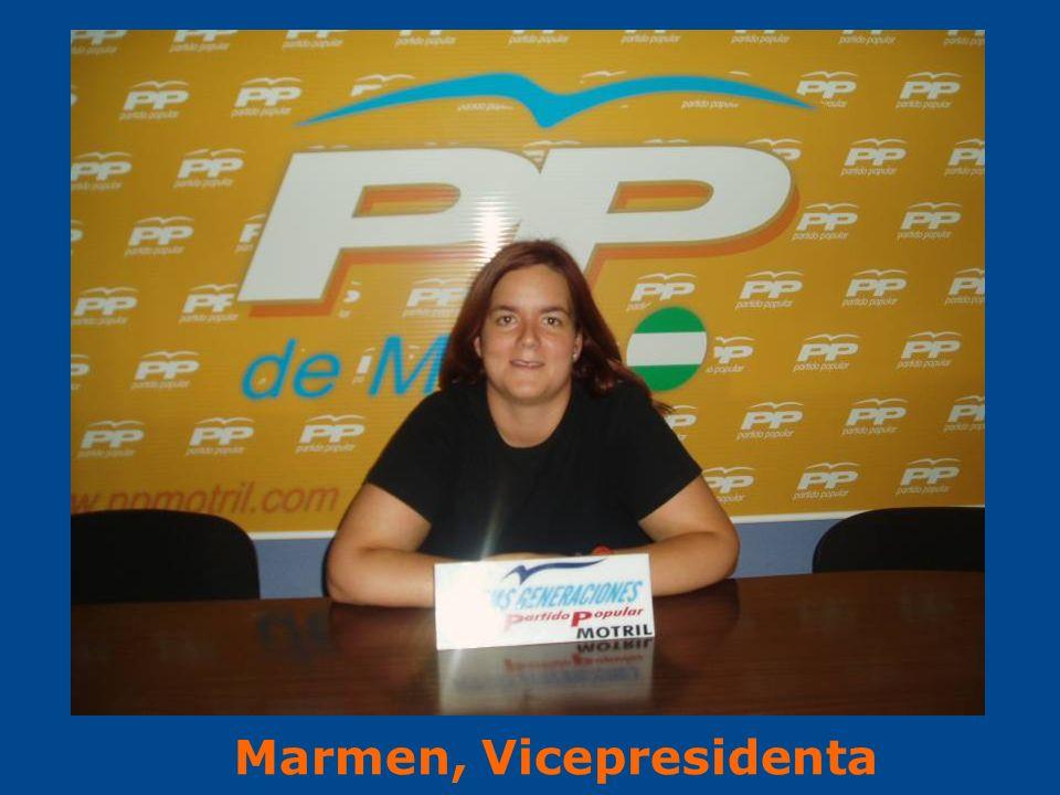 Marmen, Vicepresidenta