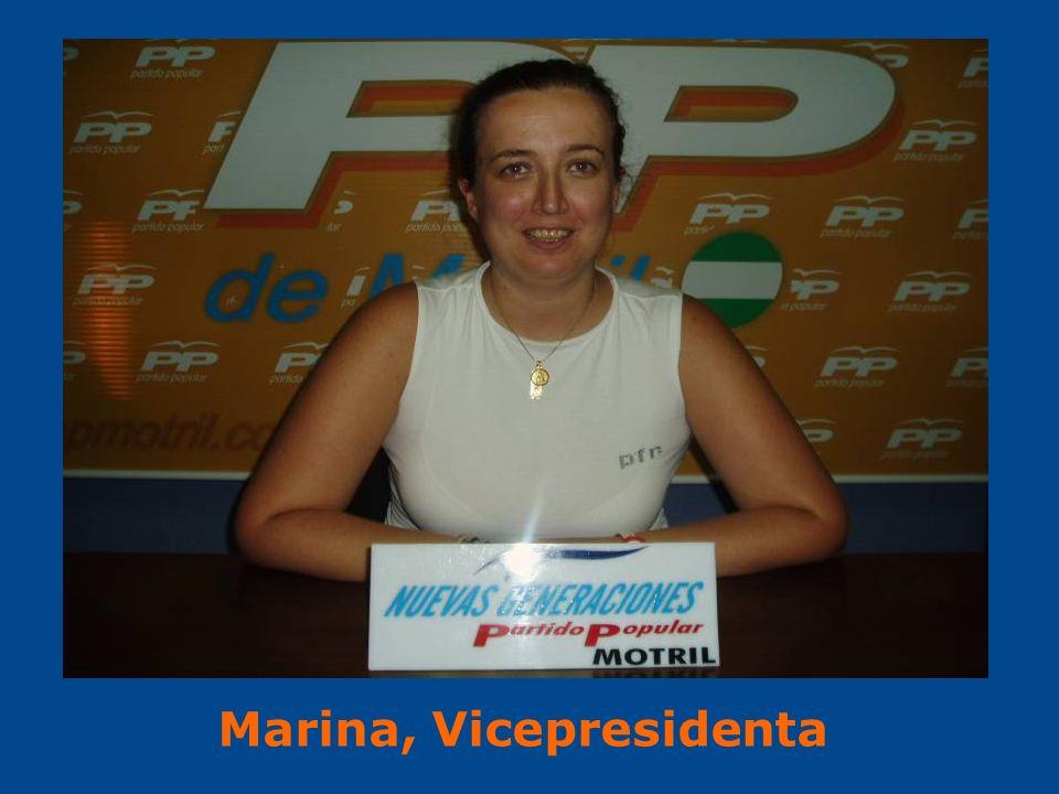 Marina, Vicepresidenta