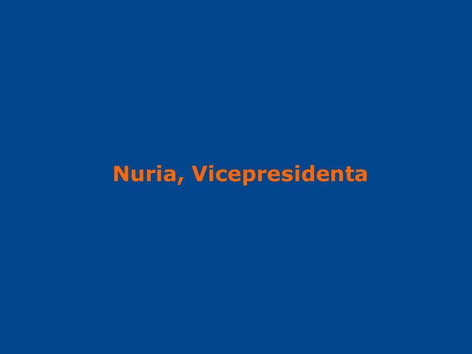 Nuria, Vicepresidenta
