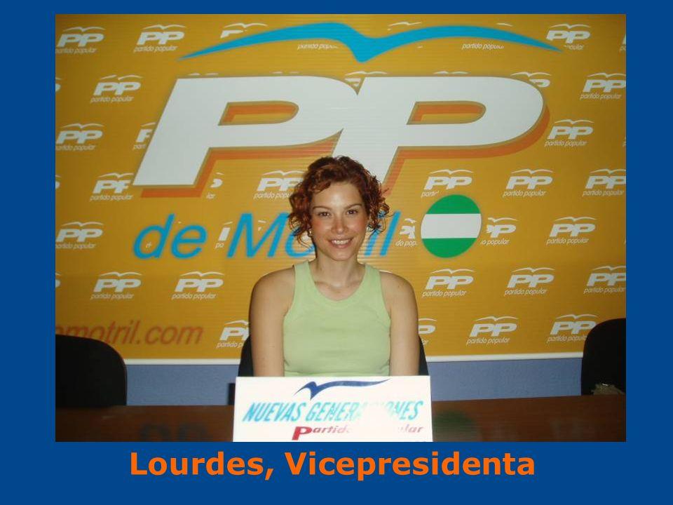 Lourdes, Vicepresidenta
