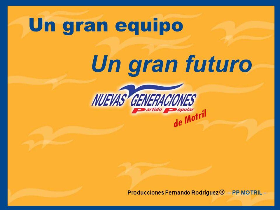 Un gran equipo Un gran futuro de Motril Producciones Fernando Rodríguez © – PP MOTRIL –