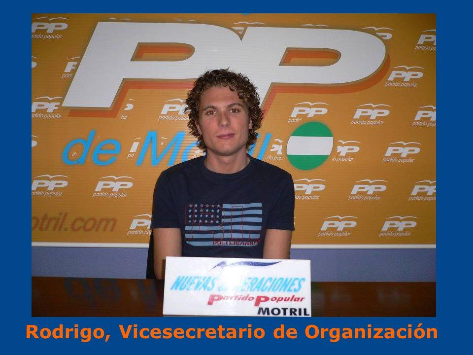 Rodrigo, Vicesecretario de Organización