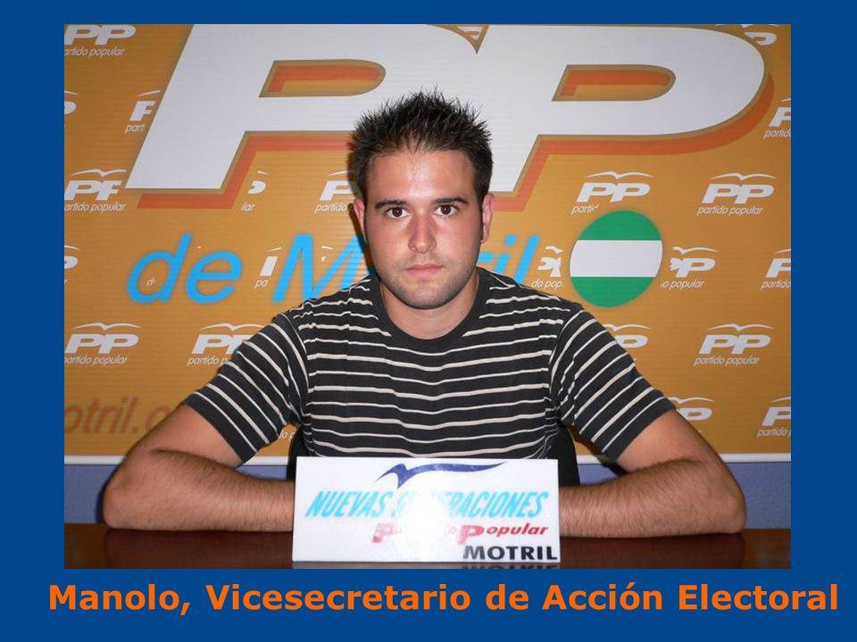Manolo, Vicesecretario de Acción Electoral