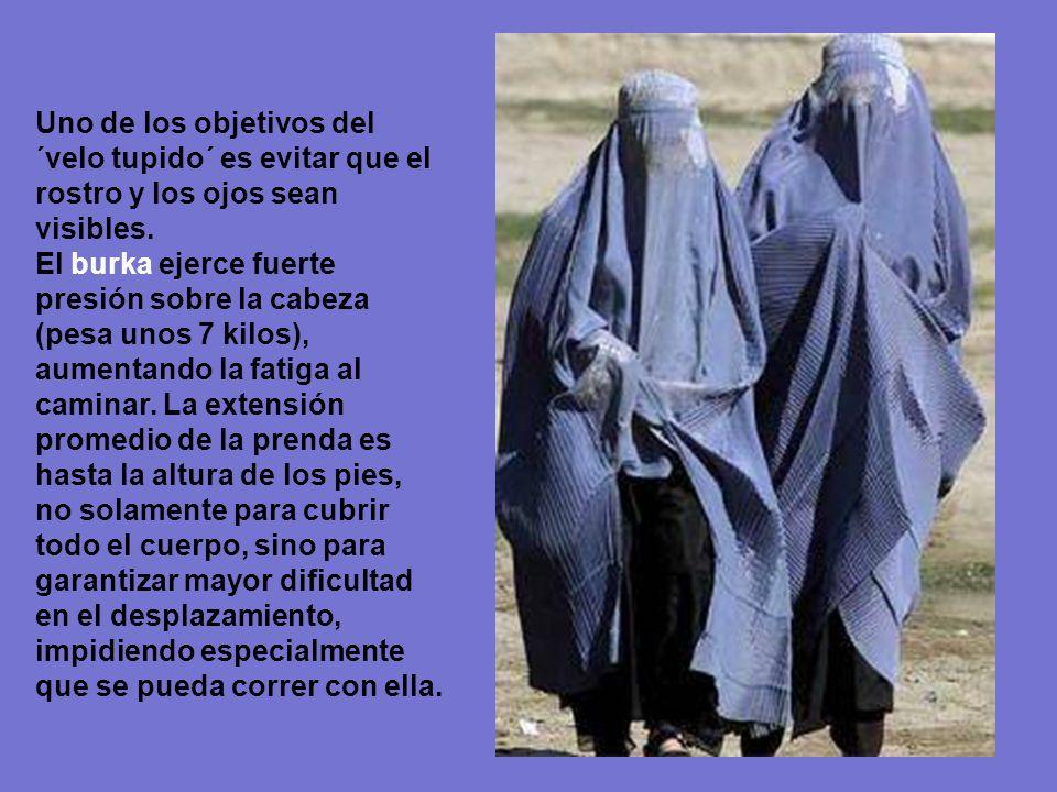 Nacer con burka.