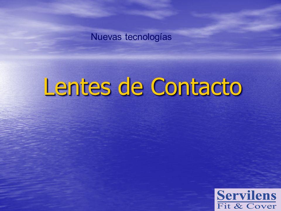 Lentes de Contacto Lentes de Contacto Nuevas tecnologías